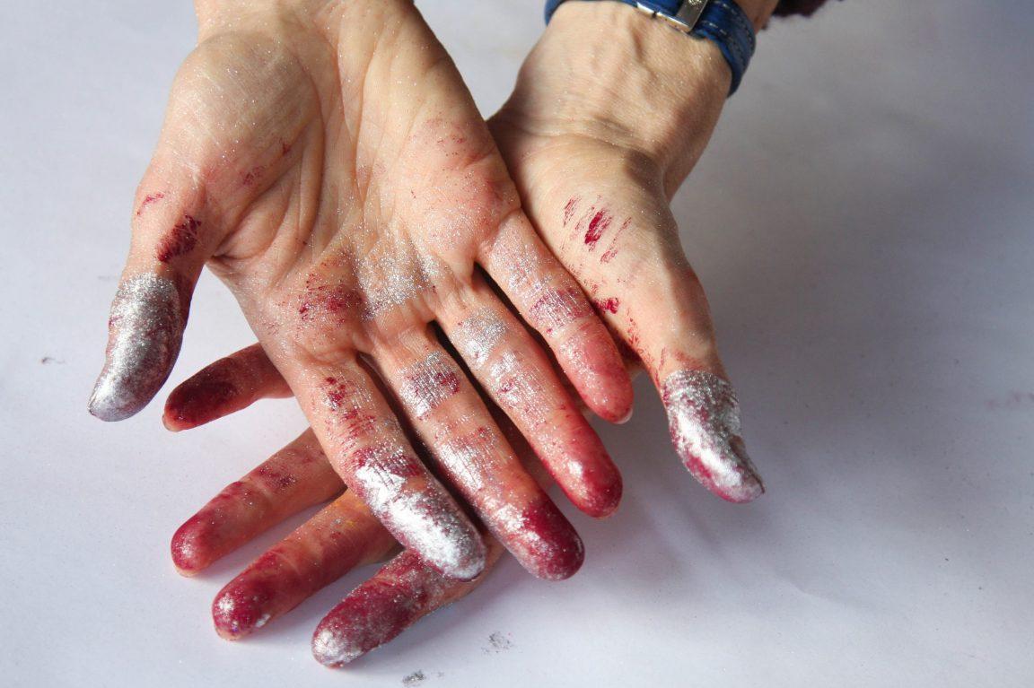 Maler Hände